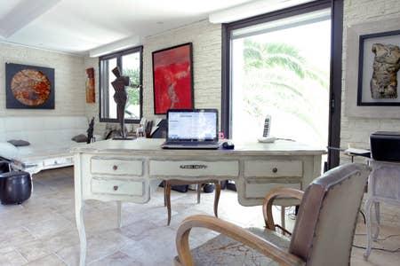 bureau chambre coté bureau