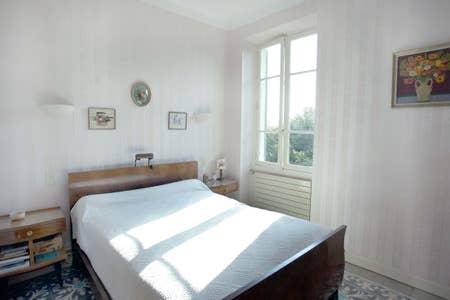 chambre parentale haut de villa