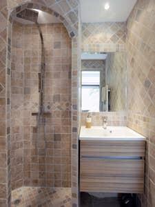 salle de douche bureau chambre